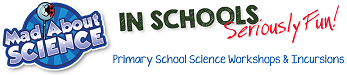 Mad About Science Incursions Logo